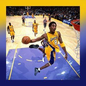 Kobe best dunking canvas print size 20x20